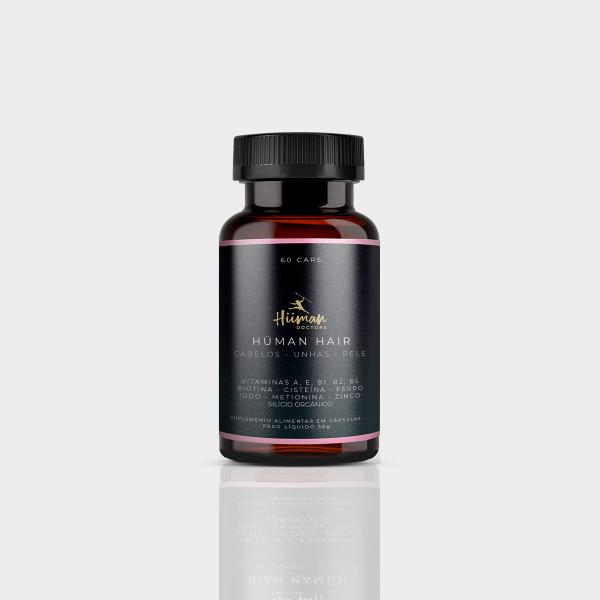 Hüman Hair - Vitamina para cabelos, pele e unhas.