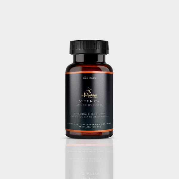Vitamina C + Zinco - 100 caps. 1000mg