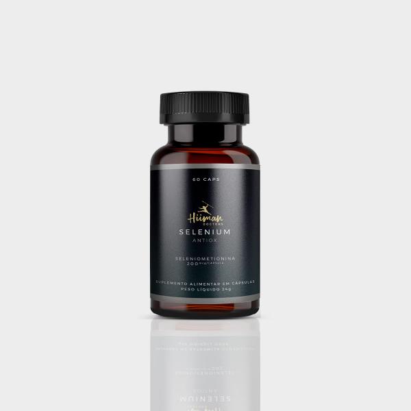 Selenium Antiox 200 mcg 60 caps.