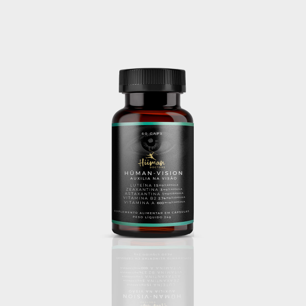 Hüman vision - Luteína 60 caps. (vitamina para os olhos)