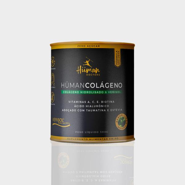 Hüman Colágeno + vitaminas - sabor limão