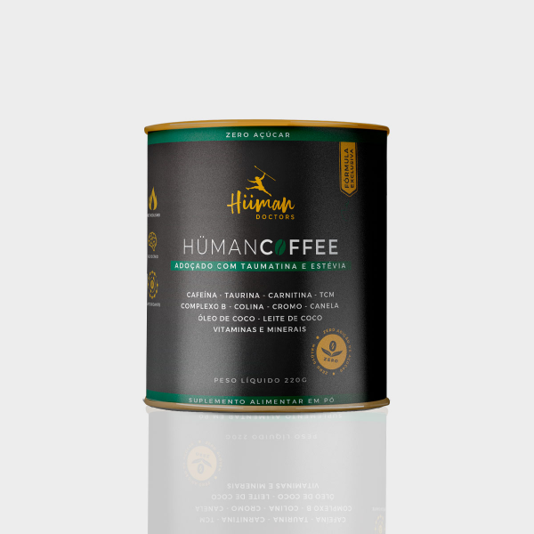 Hüman Coffee - Termogênico sabor café