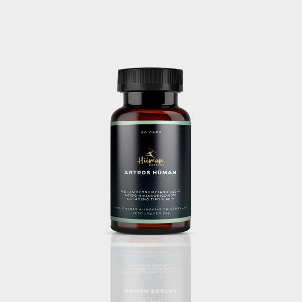 Artros Hüman 60 caps. (vitamina para as articulações)
